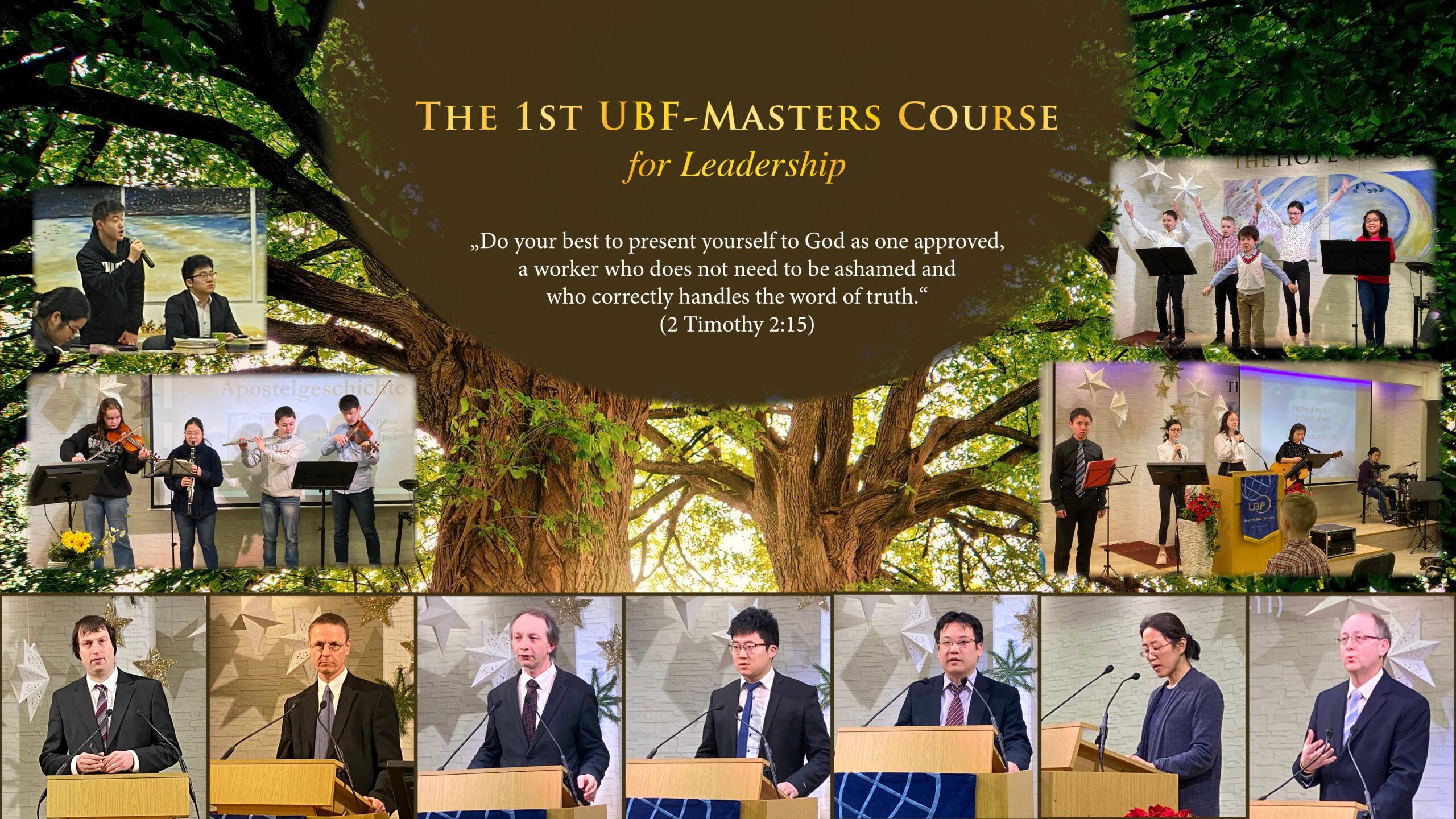 1. UBF-Masterkurs für die Leiterschaft